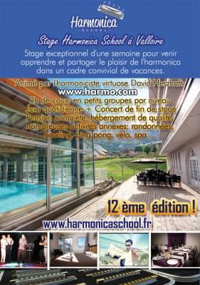 Stage d'Harmonica 2016 a Valloire (Savoie)