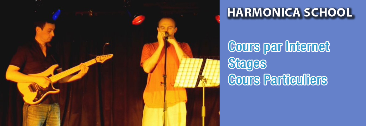 Cours d'harmonica, stages