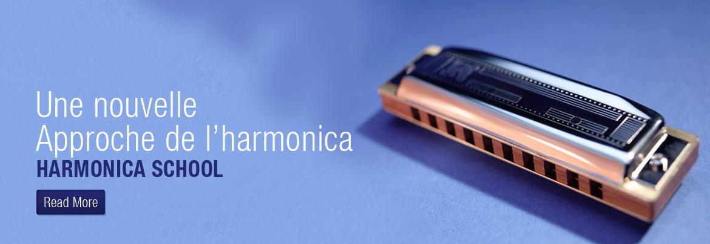 Une nouvelle approche de l'harmonica